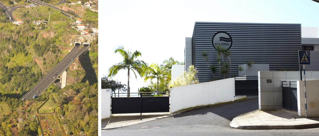 Funchal Airport Expressway | ViaLitoral Head Office, Tecnovia's first road concession