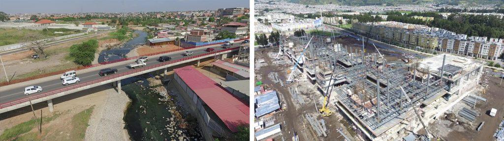 Ponte sobre o Rio Cambamba  | Construção da Plataforma Gubernamental de Desarrollo Social em Quito
