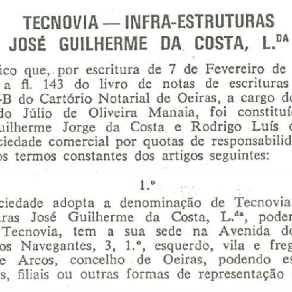 1973 – DR Const Tecnovia