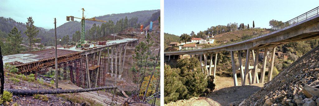 Pontes do Amioso, Sinhel e Mega EN2