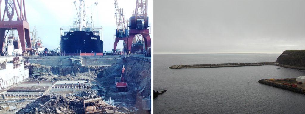 Extension of Dock No.1 at the Viana do Castelo Shipyard | Port of Santa Maria in the Azores