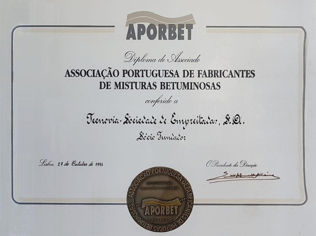Sócio fundador da APORBET