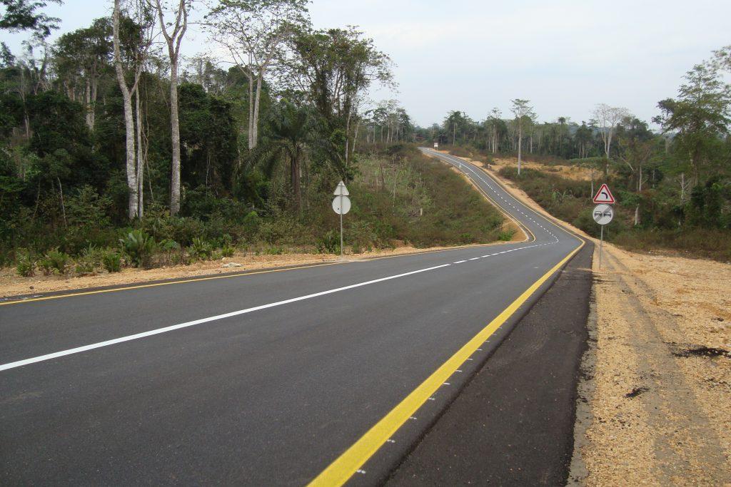 Cabinda – Buco Zau-Sanga Mongo Road