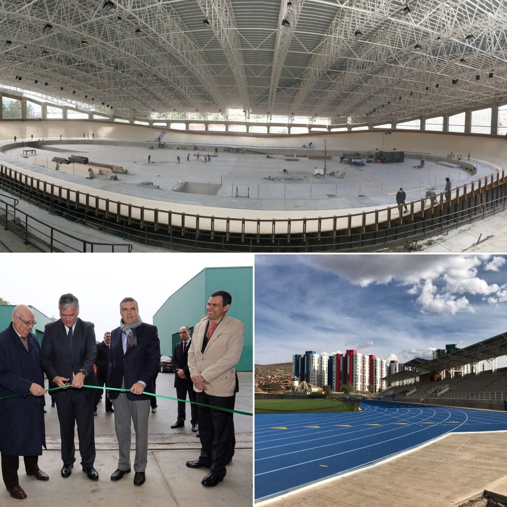 Inauguration of the Pellet Factory | Inauguration of the Sports Village of Cochabamba in Bolivia