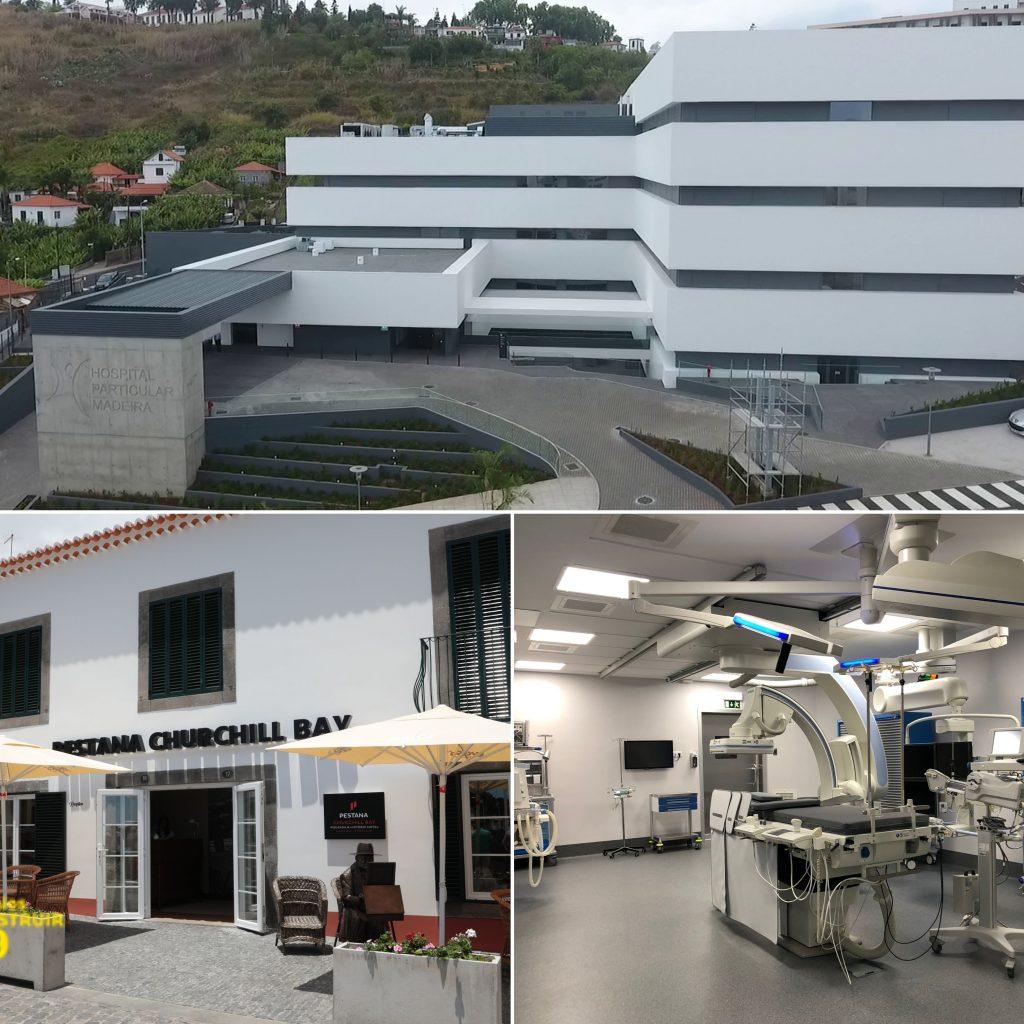 Inauguration of the Private Hospital of Madeira | Pestana Churchill Bay | Beginning of construction of the Samba Node