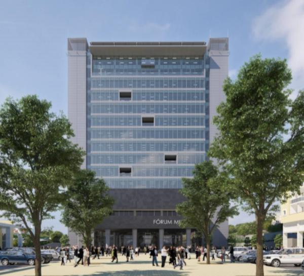 Construção do Fórum Municipal de Oeiras, adjudicada ao Consórcio Acciona – Tecnovia SA