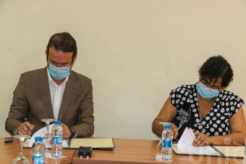 Tecnovia Cabo Verde e Universidade de Cabo Verde assinaram protocolo de cooperação