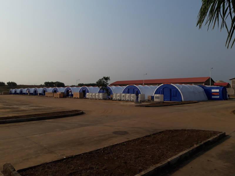 Hospital Campanha Covid 19 Cabinda