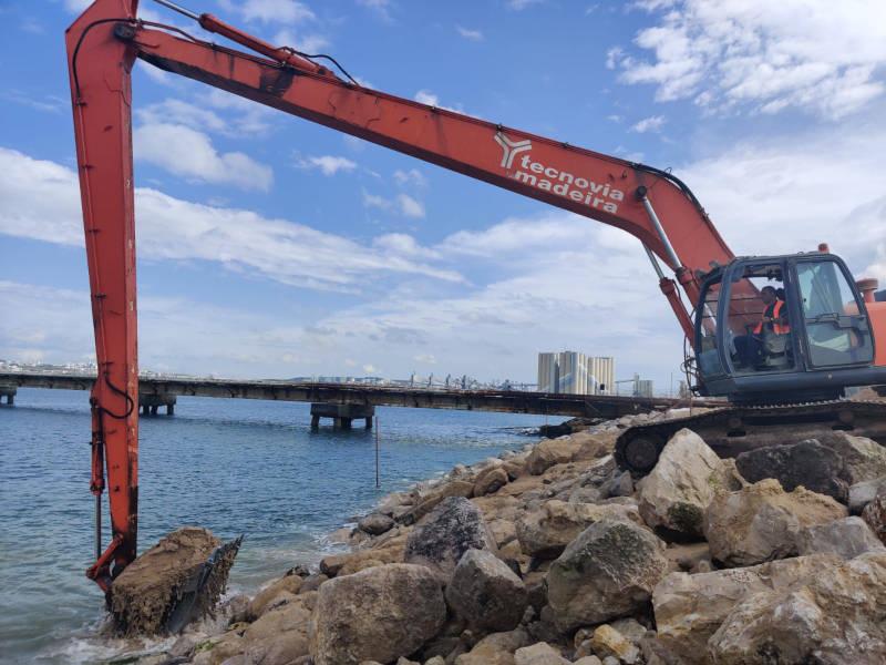 Tecnovia reabilita frente marítima na Trafaria